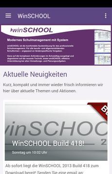 Winschool poster