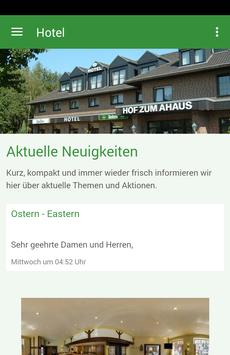 Hotel Restaurant Hof zum Ahaus poster