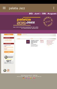 Palatia Jazz Festival poster