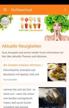Stoffwechsel poster
