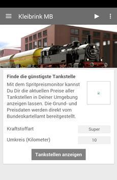 Kleibrink Modellbahn poster
