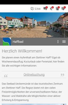 Haffbad Ueckermünde poster