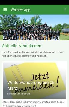 SV Waister Junggesellen e.V. poster