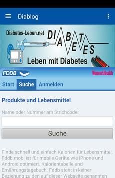 Diabetes Blog Uli Fremd poster