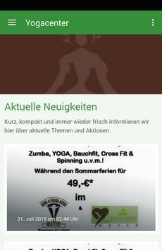 Yoga Center Mayen poster