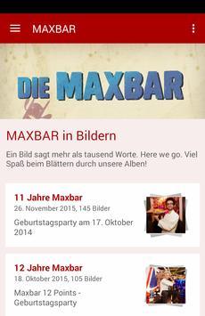 Maxbar poster