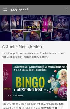Café / Bar Marienhof poster