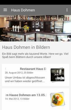 Restaurant Haus Dohmen poster