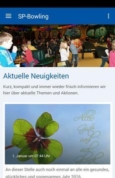 Schlosspark-Bowling Jessen poster
