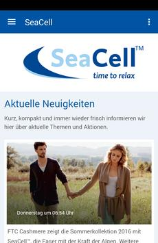 SeaCell Deutschland poster