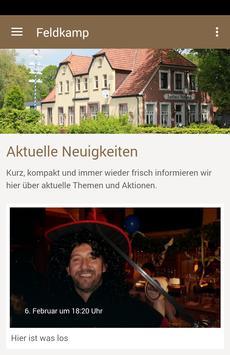 Hotel-Restaurant Feldkamp poster