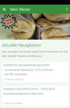 Bäckerei Heuel poster