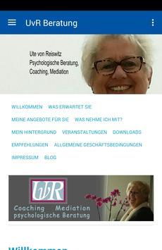 UvR Beratung & Mediation poster