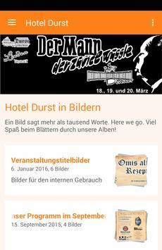 Hotel Durst poster