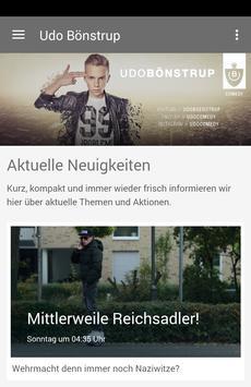 Udo Bönstrup poster