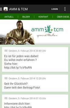 AMM & TCM GbR - gesund bleiben poster