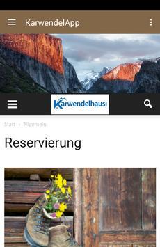 KarwendelApp poster