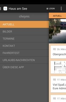 Haus am See apk screenshot