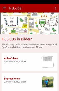 Herbstlager-LDS poster