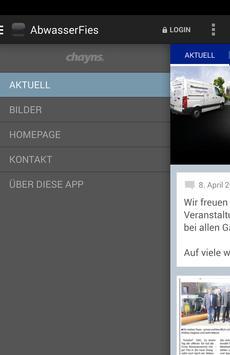 Abwasserservice Holger Fies apk screenshot