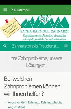 Zahnarztpraxis Freudenstadt poster