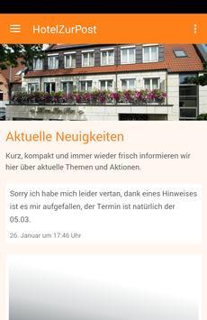 Hotel Zur Post Wettringen poster