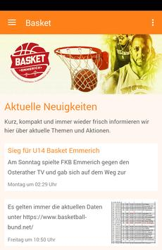 Basketball in Emmerich poster