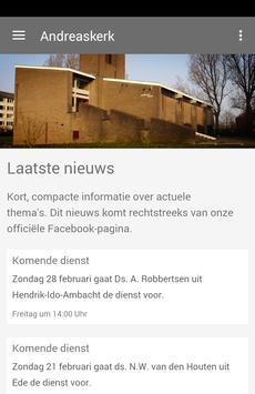Andreaskerk Dordrecht poster