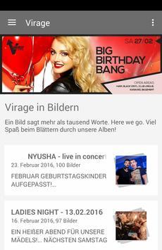 Virage Discothek poster