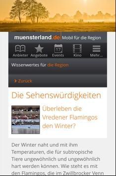 Wandern im Münsterland screenshot 2