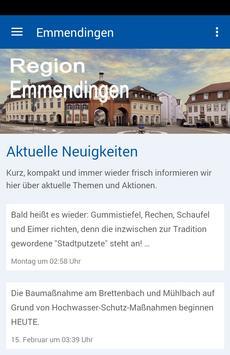 Region Emmendingen poster