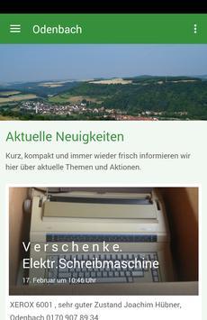 Odenbach am Glan poster