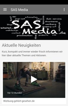 SAS Media poster