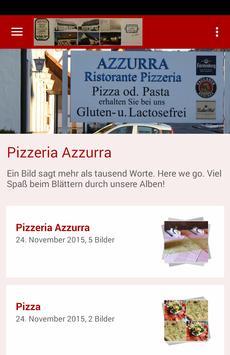 Pizzeria Azzurra poster