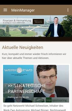 MeinManager poster