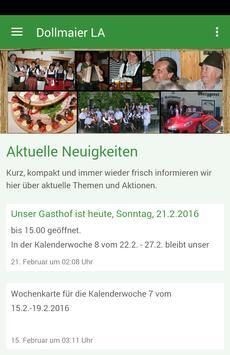 GASTHOF ZUR POST Dollmaier poster