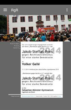 Rheinhessen gegen Rechts e.V. poster