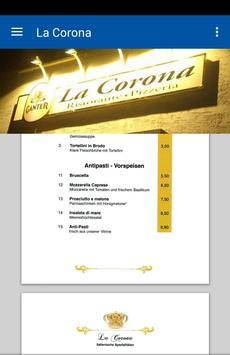 Ristorante Pizzeria La Corona poster