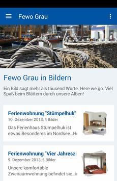 Ferienwohnung Grau poster