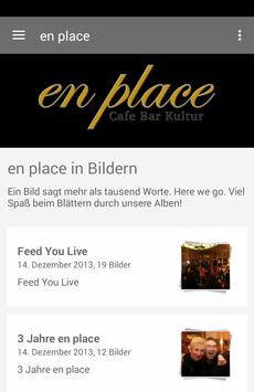 en place Cafe - Bar - Kultur poster