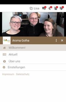 Aroma Coffeeshop & Salatbar screenshot 1