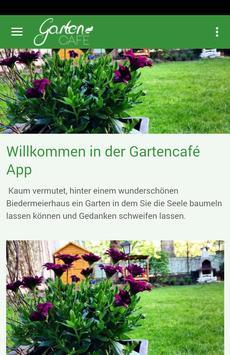 Gartencafé poster