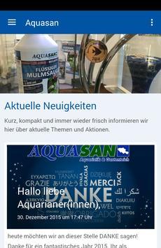 Aquasan-Aquaristik poster