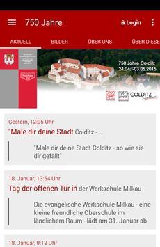 Stadt Colditz Im Muldental poster