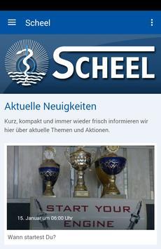 Fitness-Center Scheel poster