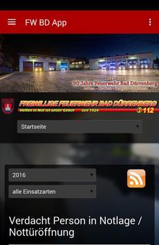 Feuerwehr Bad Dürrenberg poster