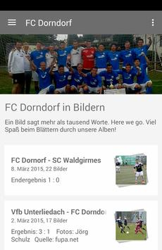 FC Dorndorf poster