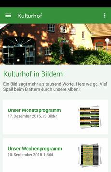 Kulturhof Hude poster