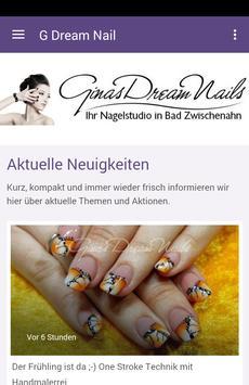 Ginas Dream Nails poster