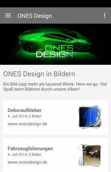 ONES Design poster